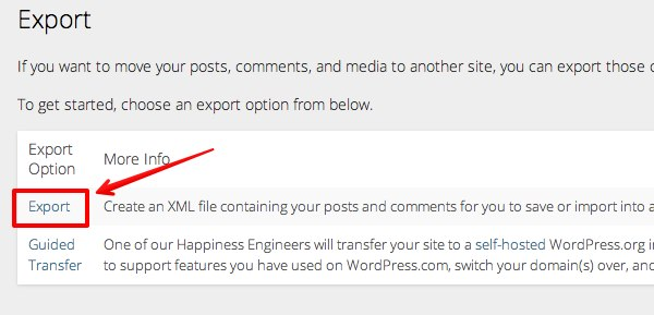 WordPress.com export 2